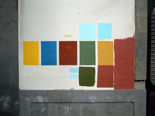 o una de esas paletas que la gente hace al pintar su casa