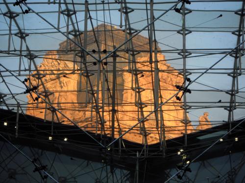 Tarde de Invierno en el Museo del Louvre