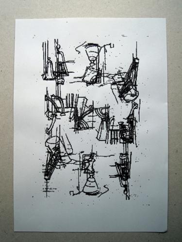 Superposición simétrica y destrucción de la imagen