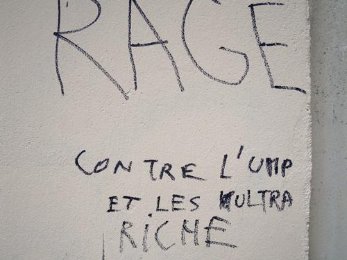 Furia contra el UMP y los utra rico[s]