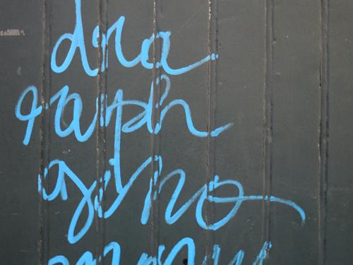 Tags en la Rue de Lappe