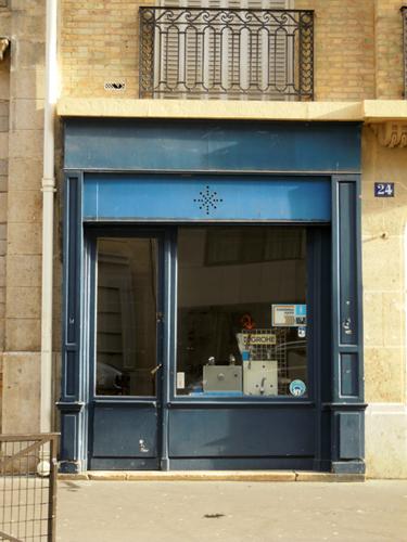 Comercio en la rue Trousseau