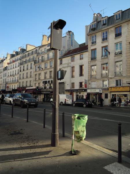 Atardecer, rue du Faubourg Saint Antoine