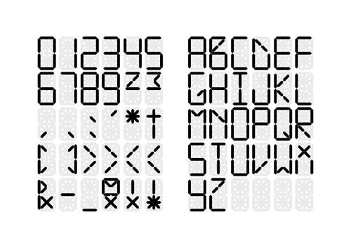 Cifras, símbolos y mayúsculas