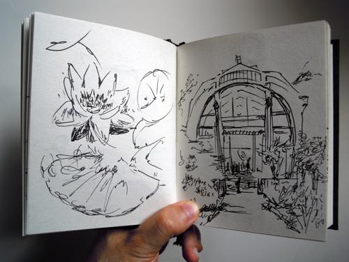 Cuaderno de verano - Jardin des Plantes, Paris