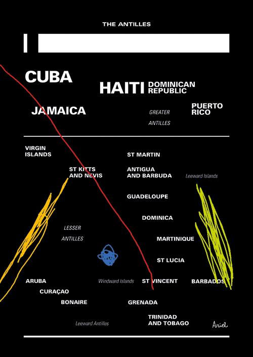 En el mar de las Antillas anda un barco de papel