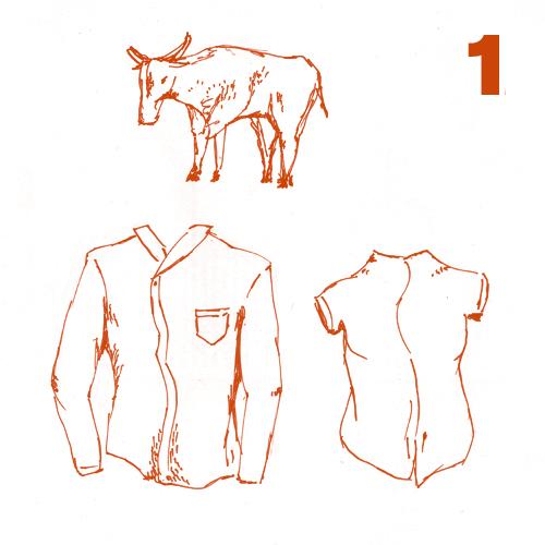 Moda mimética, de la vaca al cuero