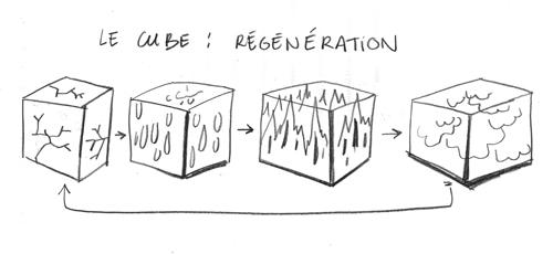 La regeneración del cubo