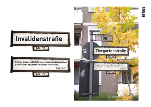 Berlin Strassennamenschild