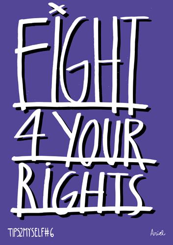 Lucha por tus derechos