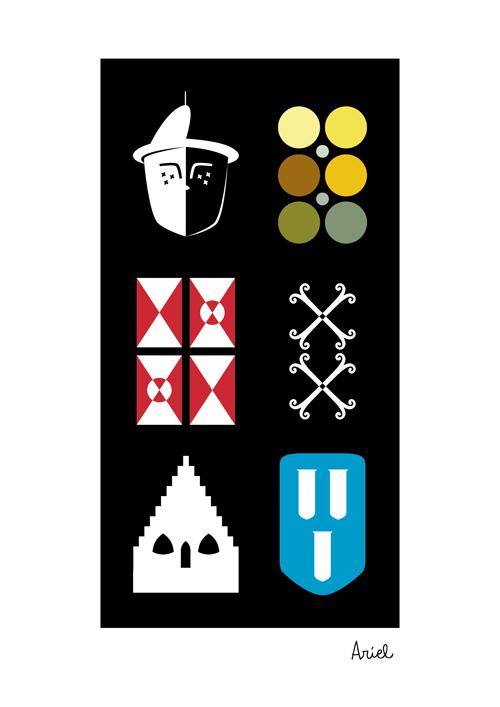 Símbolos encontrados