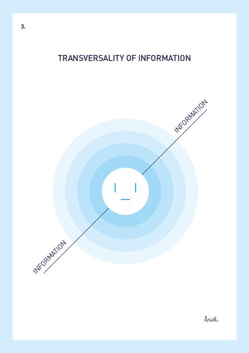 Transversalidad de la información.