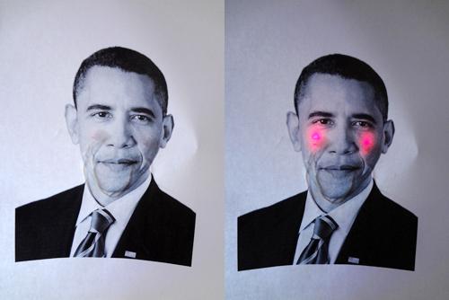 Barack Obama enamorado