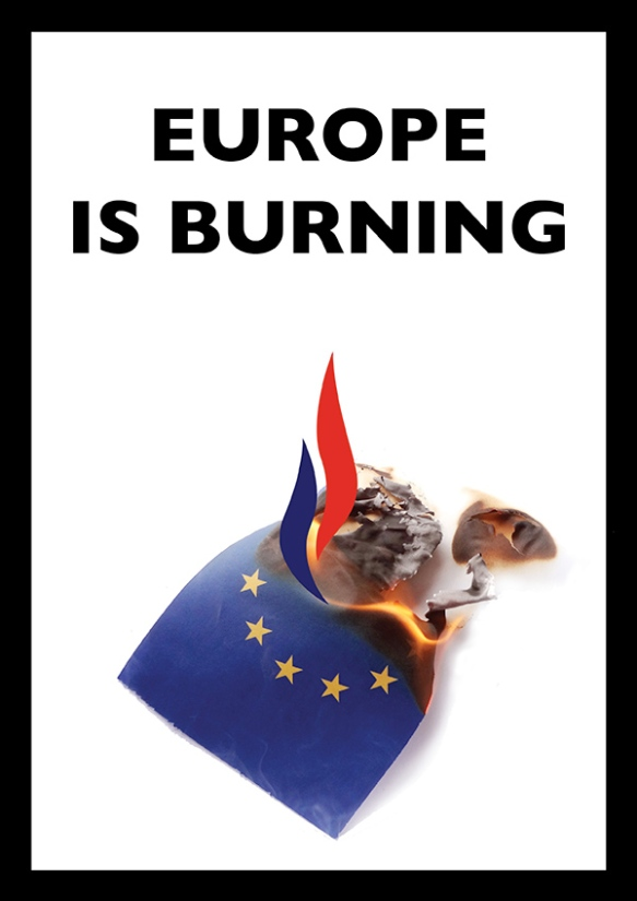 2214europeisburningposter