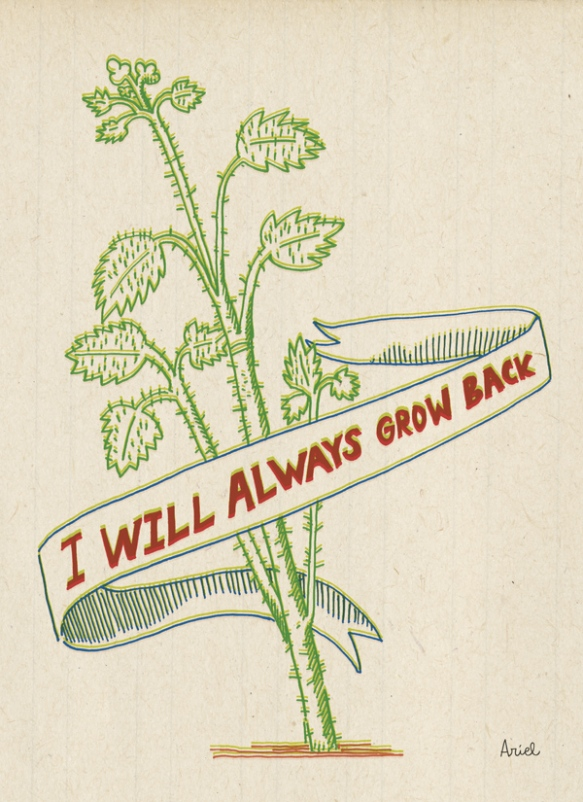I will always grow back