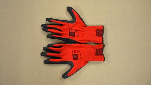 ¡Los famosos guantes!