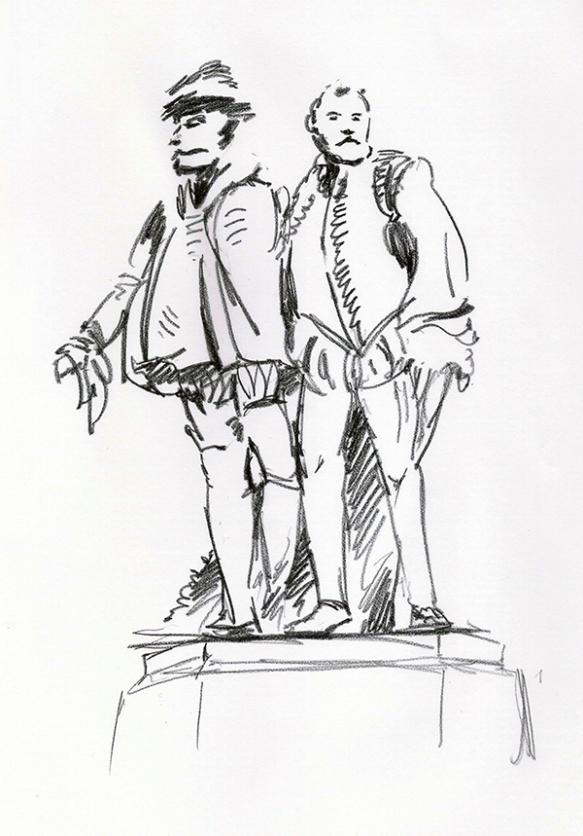 Fontaine des comtes d'Egmont et de Hornes